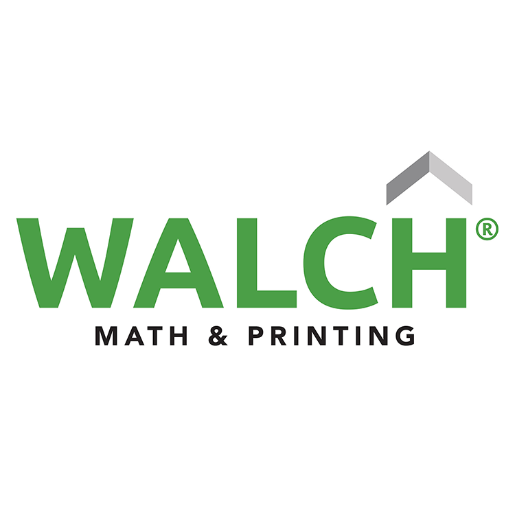 WALCH MathPrint Logo 5 X5 – color