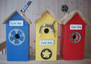 Birdhouses from Maine