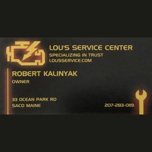 Lou's Service Center and Auto Sales