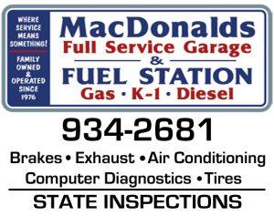 MacDonald's Garage and Beach Convenience