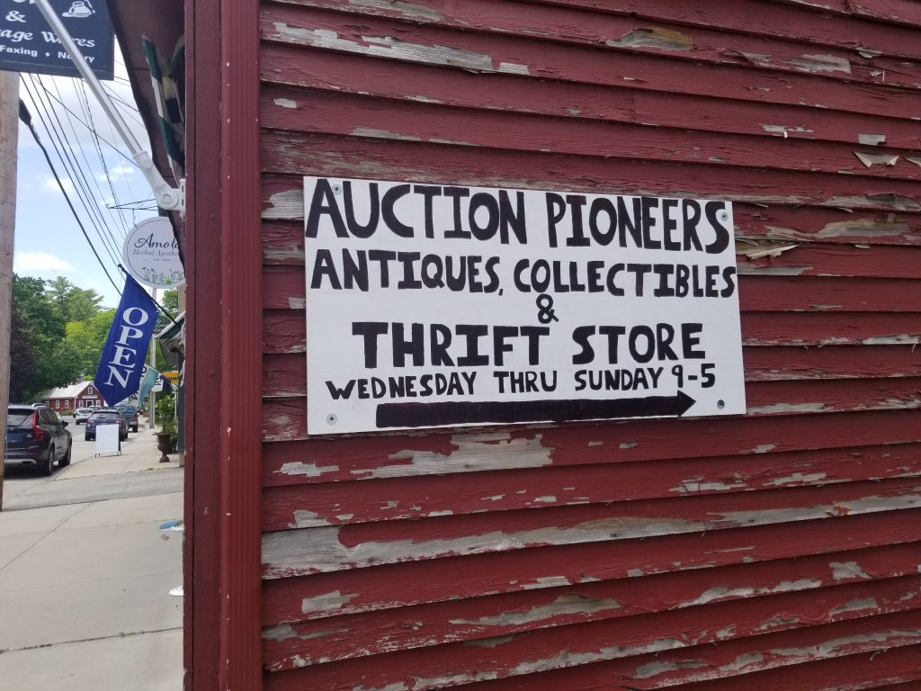 Auction Pioneers